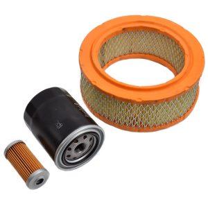 Filtersatz Shibaura SD1840, SD2040, SD2200 Shibaura SD: SD1840 SD2040 SD2200 Set-Inhalt: 1x Kraftstofffilter 1x Ölfilter 1x Luftfilter