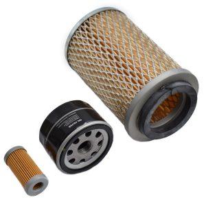 Filtersatz Suzue M1503, M1803, M2001 Suzue: M1503 M1803 M2001 Inhaltsset: 1x Kraftstofffilter 1x Ölfilter 1x Luftfilter