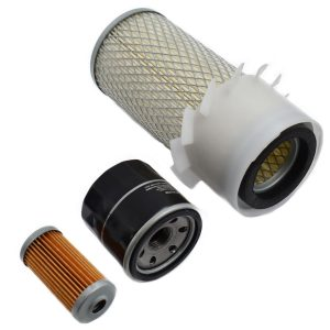 Filtersatz Yanmar F13, F14, F15, F16, F17, FX16 Yanmar F: F13 F14 F15 F16 F17 Yanmar FX: FX16 Inhaltsset: 1x Kraftstofffilter 1x Ölfilter 1x Luftfilter