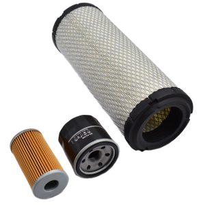 Filtersatz Yanmar F (Hinweis! 2 Arten von Kraftstofffiltern) Yanmar F: F180 F190 F200 F210 F220 F250 Inhaltsset: 1x Kraftstofffilter (Hinweis! 2 Arten von Kraftstofffiltern) 1x Ölfilter 1x Luftfilter