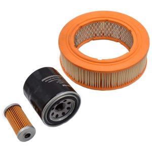 Filtersatz Yanmar YM Yanmar YM: YM1500 YM1600 YM1700 YM1900 YM2000 YM2500 YM3000 Inhaltsset: 1x Kraftstofffilter 1x Ölfilter 1x Luftfilter